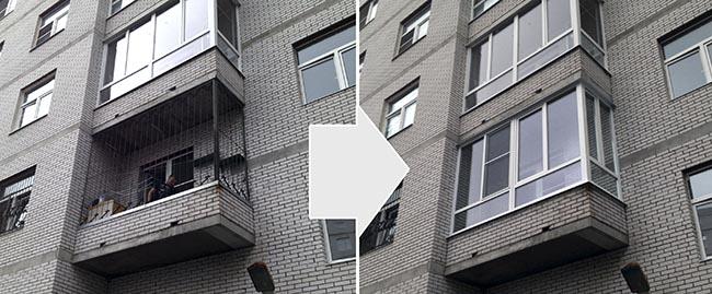 Нужно ли застеклять балкон - преимущества остекления балкона.