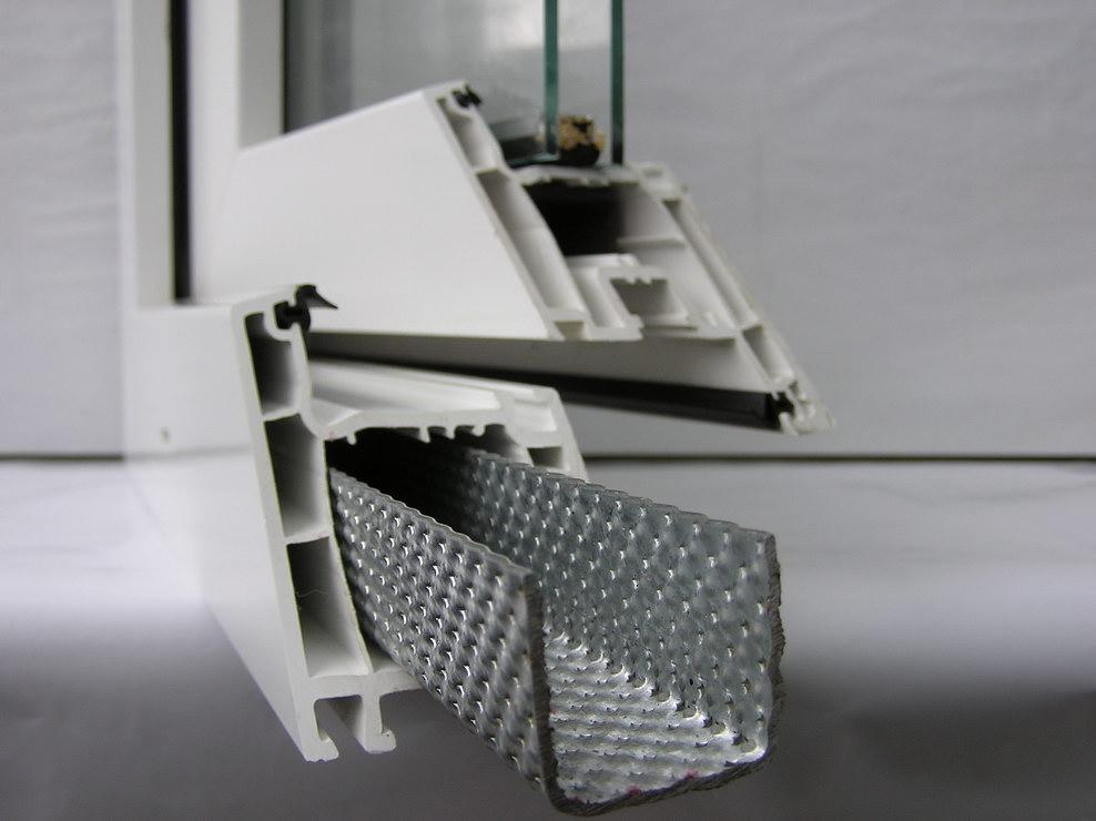Устройство пластиковых окон пвх в разрезе - технология окон .